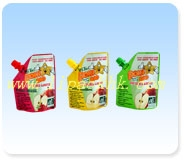 Spout Pouch for baby food or juice