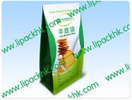 500g flat bottom food package